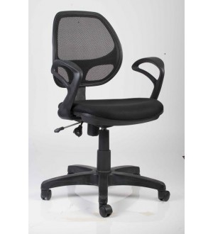 Chair Mesh Back Revolving with arm 803