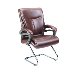 Visitor Chair with Leatherite Upholstry Premium Luxury.
