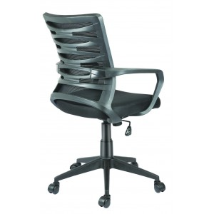 Low Back Revolving Chair in Mesh Back Design