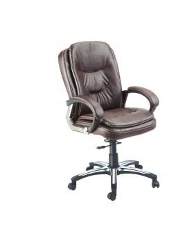 Mid Back Revolving Chair with Leatherite Upholstry. New Jumbo