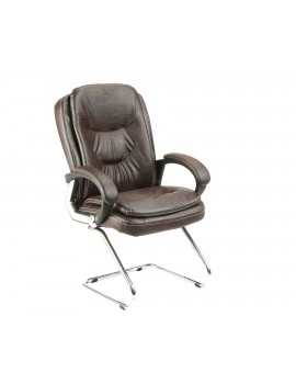 Visitor Chair with Leatherite Upholstry Premium Luxury. New Jumbo