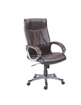 High Back Luxury Revolving Chair in Leatherite Upholstry - New Romeo