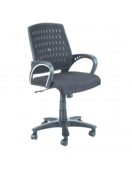 Low Back Mesh Net Chair - Laura