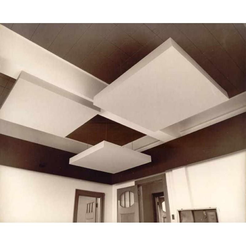False ceiling plain gypsum board