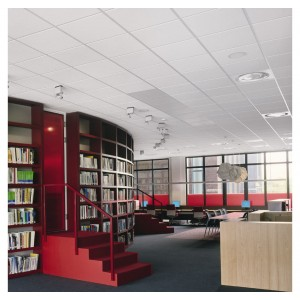 False Ceiling T Grid - PVC Laminated Tiles
