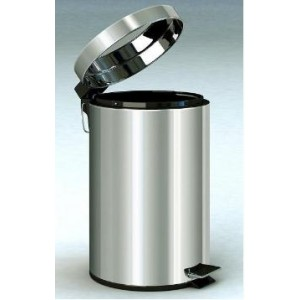 Stainless Steel Pedestal Dust Bin.